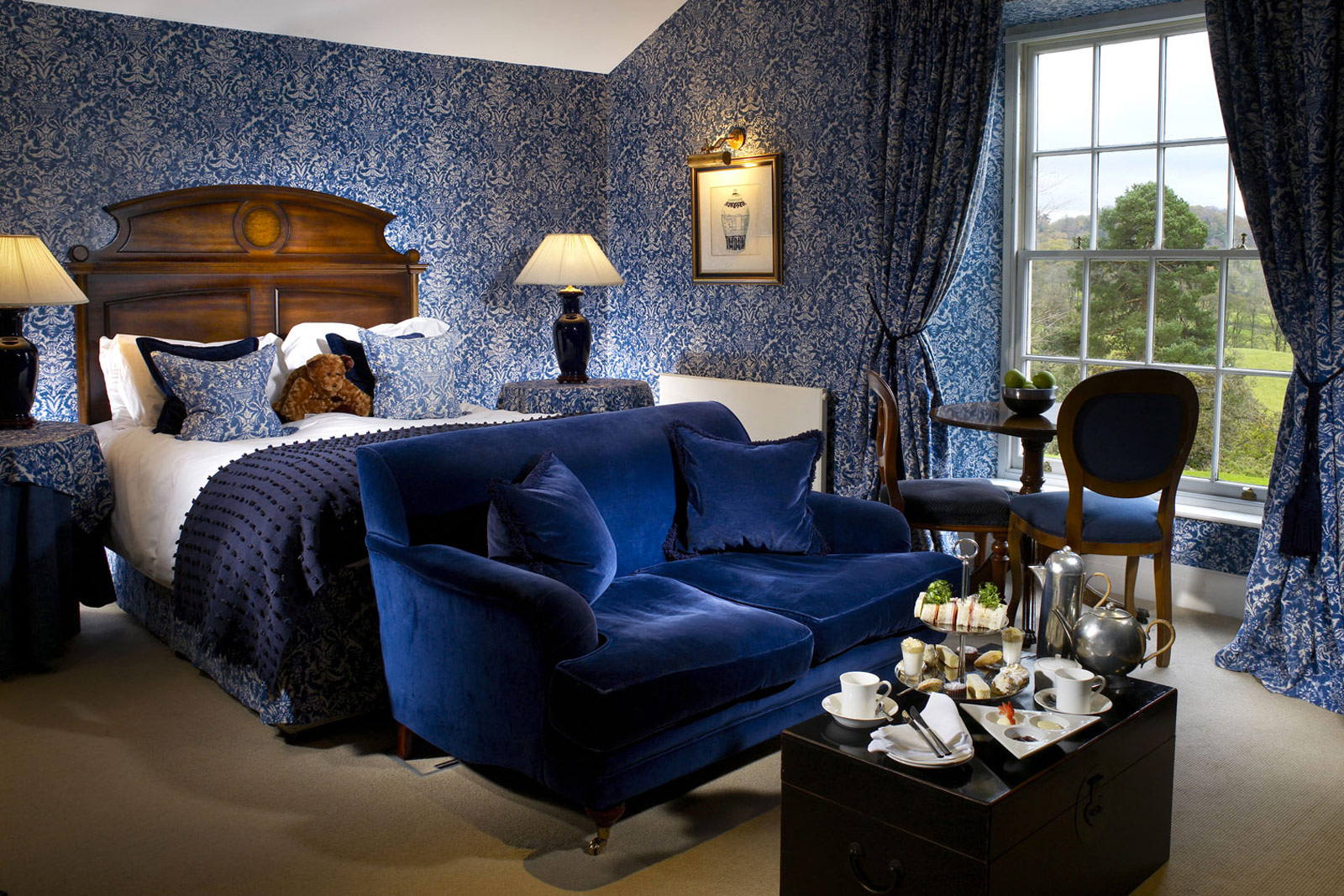 Luxury country house hotel in Lake District
