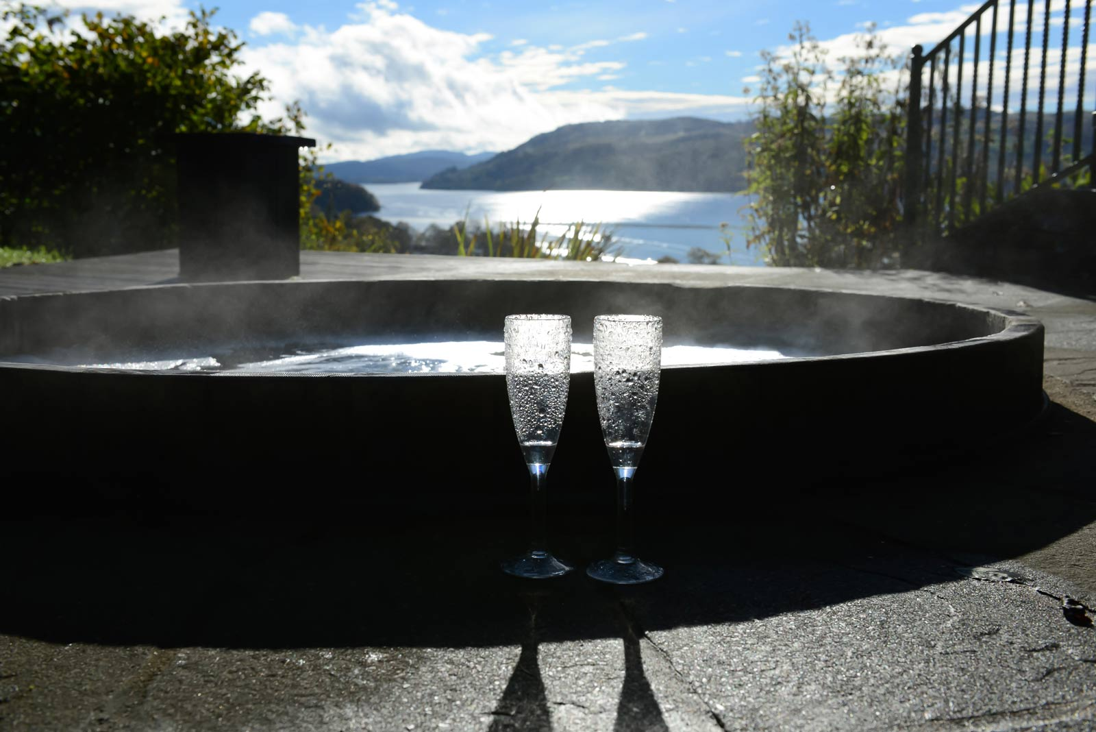Samling Hot Tub Champagne Glasses