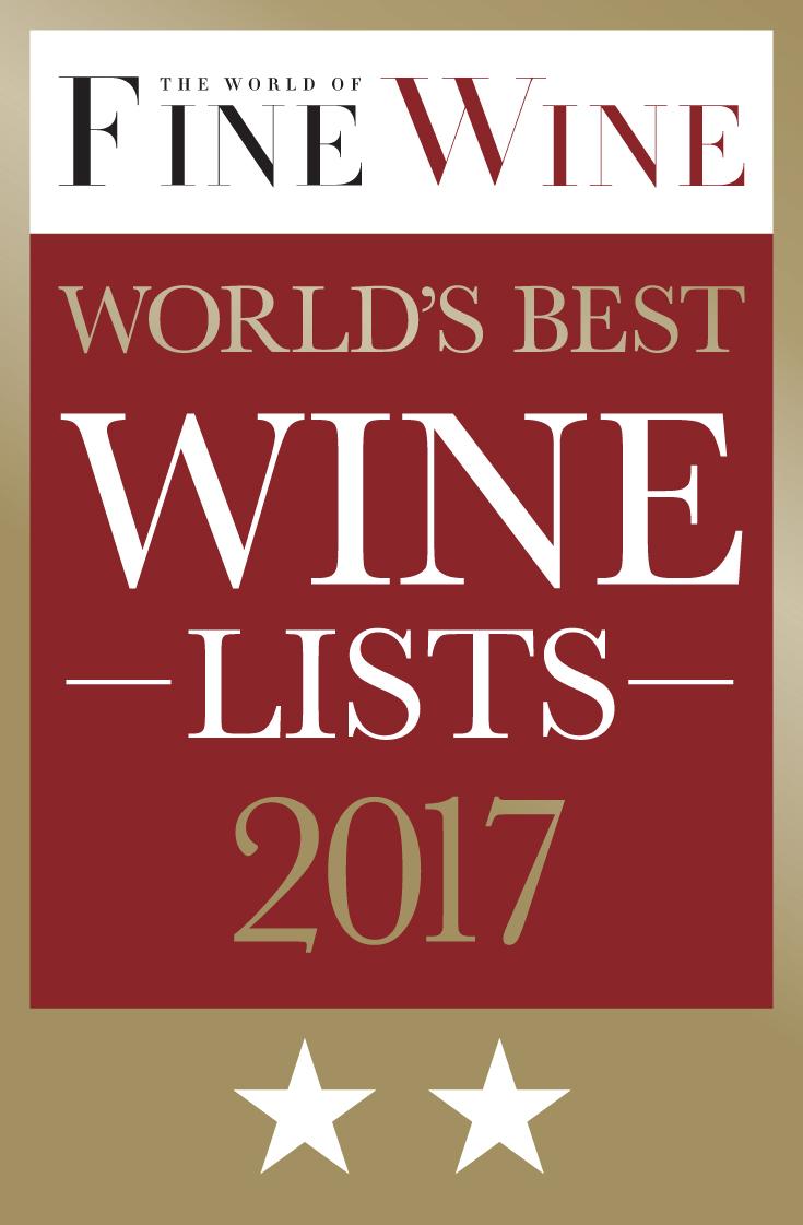 World's Best Wine Lists 2017